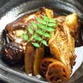真鯛のカブト煮付け 780円