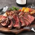 料理メニュー写真炭火の牛ステーキ
