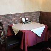 ウインズガーデンの【2名様・テーブル席】♪ゆったりとした空間になっており大切な時間を過ごすにはぴったりのお席となっています!【デート】などに是非お使いください♪