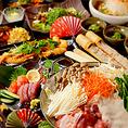 ◆名古屋コーチン白金コース◆全10品 5000円 3hプレミアム飲み放題付