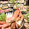 お手軽なお値段で紅ずわい蟹をお手頃に食べれる宴会コースを多数ご用意しています!(飯田橋 和食 居酒屋 個室 海鮮 かに 飲み放題 宴会 接待 誕生日 駅近)