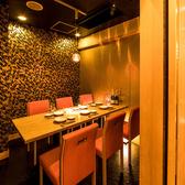 テーブル席の扉付き完全個室はお勤め先での飲み会・宴会・誕生日会等にもオススメ◎プライベート空間で周りを気にせずごゆっくりお過ごしください!