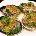 料理メニュー写真【貝料理】大貝と春雨のニンニク風味蒸し