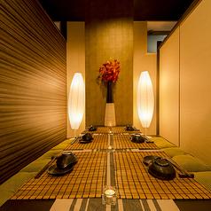 【6名様~10名様 掘りごたつ個室】立川での飲み会や女子会にもオススメです!!完全個室を完備した上質な和空間。