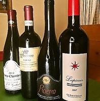 【ワイン常時50種類、100本以上のラインナップ】