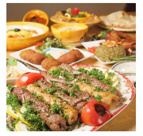 アラビアンレストラン ゼノビア 広尾