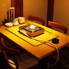 テーブル席◆4名席が4卓あります