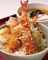 料理メニュー写真大海老天ぷらの丼定食