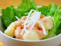 料理メニュー写真エビのオーロラソース