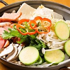 プデチゲ/海鮮鍋/豚カルビキムチ鍋