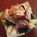 料理メニュー写真日向海鮮寿司タワー