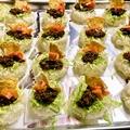 料理メニュー写真立食パーティ(例)