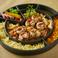 料理メニュー写真チーズタッカルビ(韓国餃子)