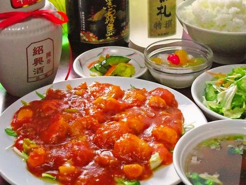 ボリュームたっぷりでリーズナブルな本格中華を日本人に合わせた味付けにした絶品料理