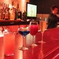 Barはお洒落な空間が広がっております。