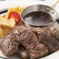 【ランチもお得!】1280円~ランチでステーキが楽しめる!ちょっぴり贅沢なランチタイムはいかがでしょうか??