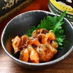 料理メニュー写真つぶ貝キムチ