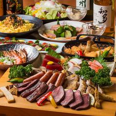 肉屋の肉バル キャプテンミート 赤坂店のコース写真