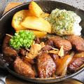 料理メニュー写真ゴロゴロサイコロステーキ