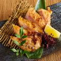 料理メニュー写真新潟地鶏の西京焼