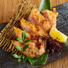 新潟地鶏の西京焼