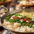 料理メニュー写真この時期大人気!!もつ鍋がついたご宴会コースはゆったり3時間飲み放題もOK