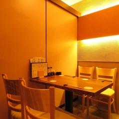 女性に嬉しいテーブル席。2~4名様半個室