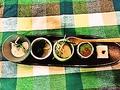 料理メニュー写真前菜五種盛り