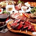 《NEW4種食べ放題》3時間飲み放題10品ローストビーフと熟成国産牛ステーキコース6000円→5000円