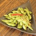 料理メニュー写真枝豆のガーリック炒め~ナンプラー風味~