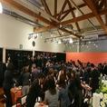 歓送迎会等の各種宴会に◎室内着席最大80名、室内立食100名様程。