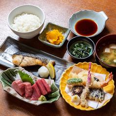 【☆夜の定食】よくばりマグロ定食