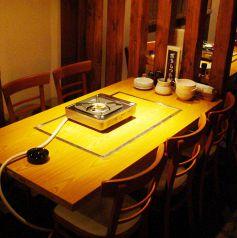 ゆったり6名様テーブル席