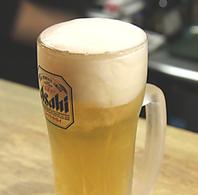 【雨の日限定】生ビール・チューハイ、ハイボが380円!