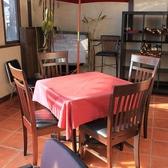 【4名様用テーブル席】♪みんなでワイワイと楽しめるウインズガーデンのテーブル席!少人数の集まりや【女子会】などにぴったりのお席となっています☆