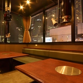 【デートや接待に】2~4名様までOKの夜景の見える個室♪4~6名様までOKの個室とつなげて最大10名様までご利用いただけます!!