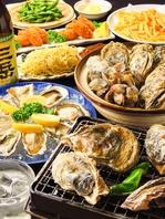 産地直送!各地の旬の牡蠣を堪能★牡蠣含む海鮮食放等