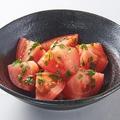 料理メニュー写真青しそ冷やしトマト