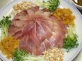 宴会料理!中華風鯛のカルパッチョ 要予約【要予約】