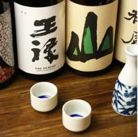 全国各地からこだわりの日本酒を仕入れてます!
