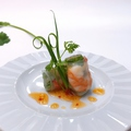料理メニュー写真海老のミニ春巻き
