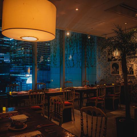 銀座の心地よい空間と洗練されたお料理で、心に残るパーティーを♪