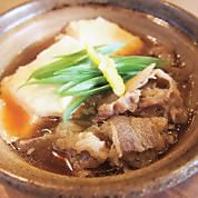 自家製の豆腐を使った豆腐料理を多数ご用意。