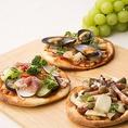 お好きなものをお好きなだけ★お好みの具材であなただけのピザをお召し上がりください。