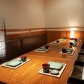 テーブル席も最大で20名様までご利用OK!【お忍び居酒屋 きのした新潟駅前店の店内空間】