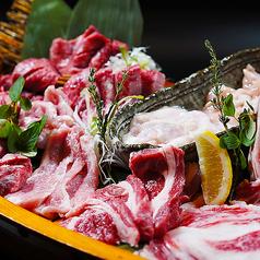 和牛とジンギスカン、焼肉の極意 兆 kizashiのコース写真