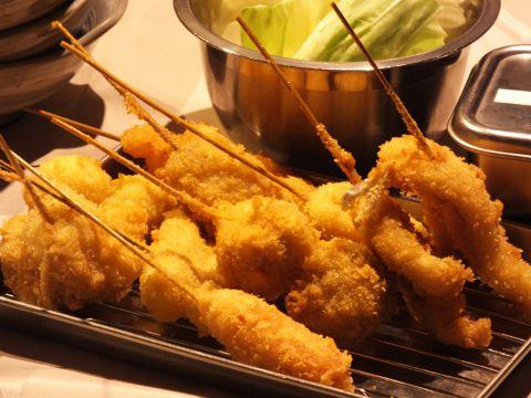 宴会は串カツ&もつ鍋で♪♪リーズナブルにわいわい愉しめる水戸銀杏坂の人気店☆
