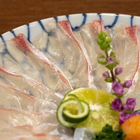 新鮮そのもの!朝〆の魚をさばいたお刺身は絶品!