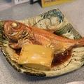 料理メニュー写真千葉の特上金目鯛煮付け