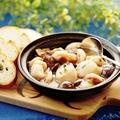 料理メニュー写真海老と木ノ子のアヒージョ